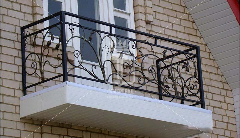 Кованые балконные ограждения в тюмени. низкие цены художеств.