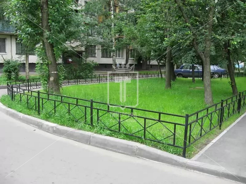 Ограды для клумб и газонов