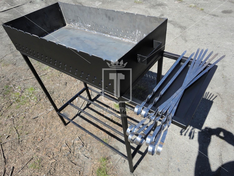 Мангал из металла своими руками размеры, фото, видео, схемы 71