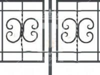 """Эскиз газонного ограждения с """"барашками"""" и торсировкой (Арт. 067)"""