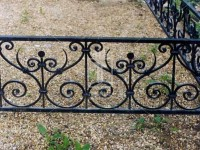 Низкая ажурная ограда (Арт. 010)
