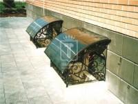 Козырьки на окна цоколя (Арт. 009)