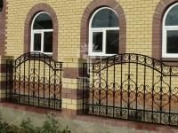 Ажурный забор с дугообразным верхом (Арт. 018)