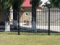Забор с большим волнистым узором посередине (Арт. 026)