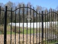 Металлический забор из профильных труб (Арт. 099)