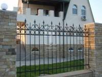 Забор по строгому эскизу (Арт. 025)