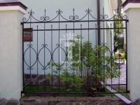 Забор с большими овалами посередине (Арт. 041)