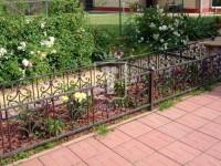 Красивое ограждение для цветочной клумбы (Арт. 005)