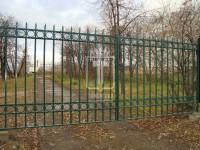Металические ворота с кольцами (Арт. 086)