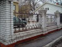 Забор с волнистыми пиками (Арт. 011)
