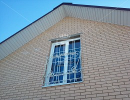 Белые декоративные решетки на окна